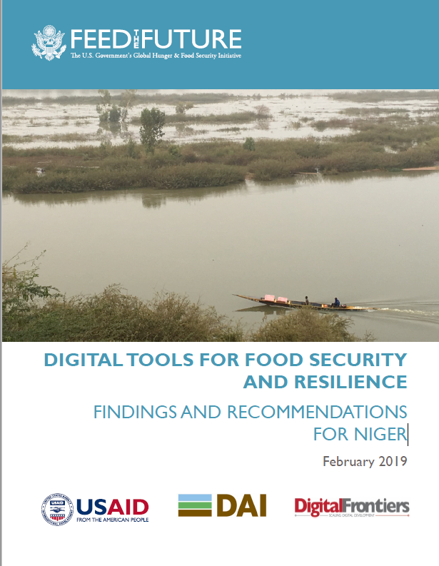 Digitaltools for Food Security and Resilience: Findings and Recommendations for Niger