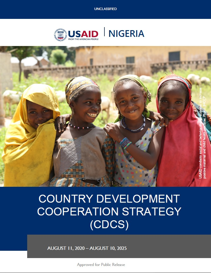 Nigeria Country Development Cooperation Strategy 2020-2025