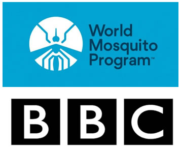 World Mosquito Program and the BBC Logo