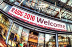 Front entrance to the AIDS 2016 Conference Center