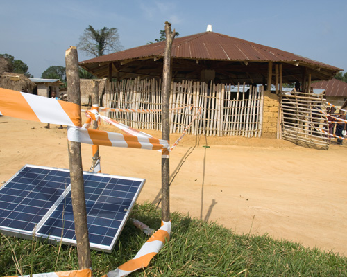 In rural areas, polling stations were equipped with solar power to allow voters to receive official voter cards within minutes.