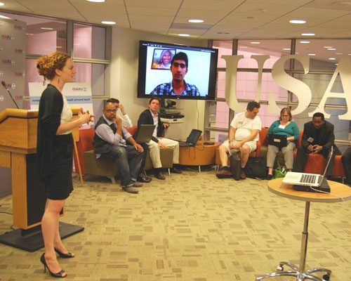 Kat Townsend, special assistant in USAID's Office of Innovation and Development