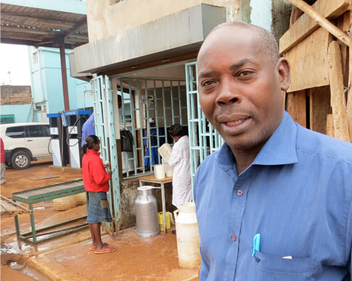 Joseph Githahu plows his profits back into expanding Kirere Dairy Services for the benefit of his rural community.
