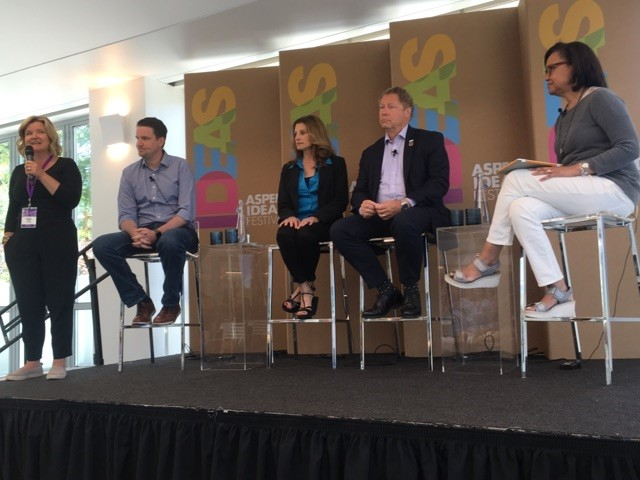 CII panel at the Aspen Ideas Festival.