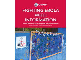 Cover image of the Fighting Ebola Report