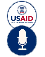 USAID Podcast graphic.