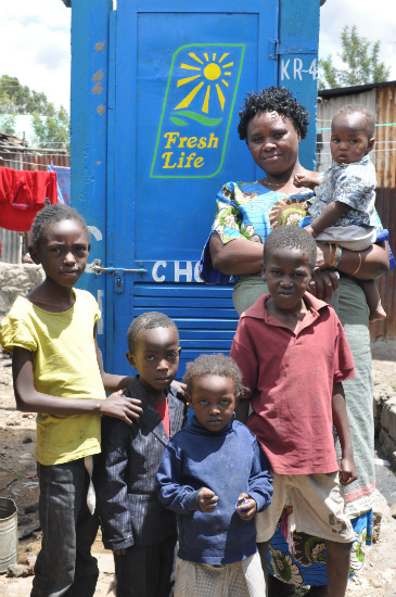 Fresh for Life beneficiaries