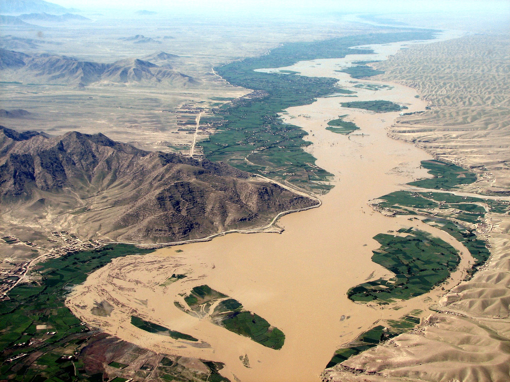 USAID responds to flooding along the Helmand River in Afghanistan, by providing critical assistance to the immediate needs of th