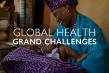 Photo of a mother and child. Global Health Grand Challenges