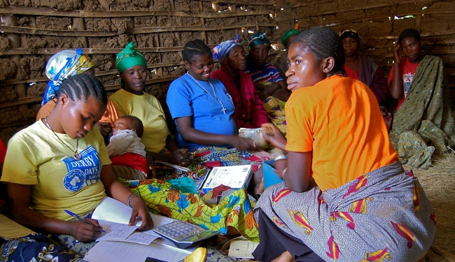 Sexual survivors support group in the DRC