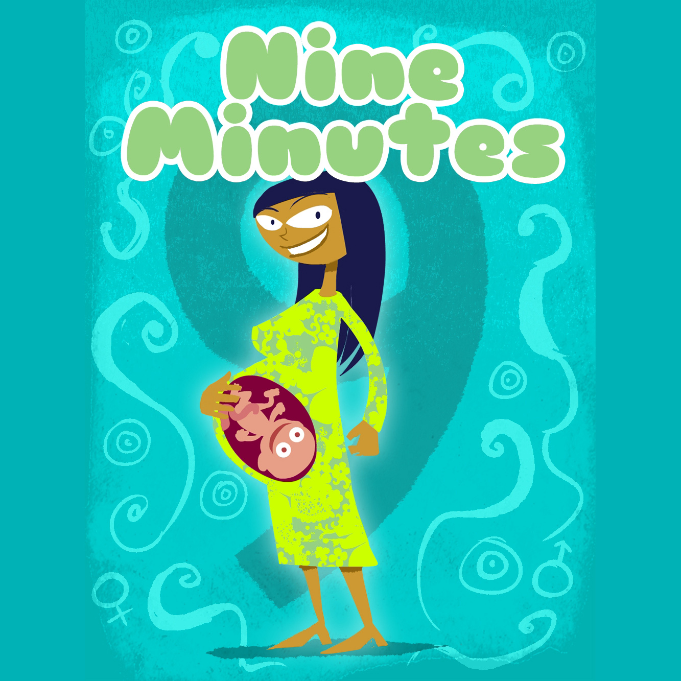 Title screen of Nine Minutes mobile game