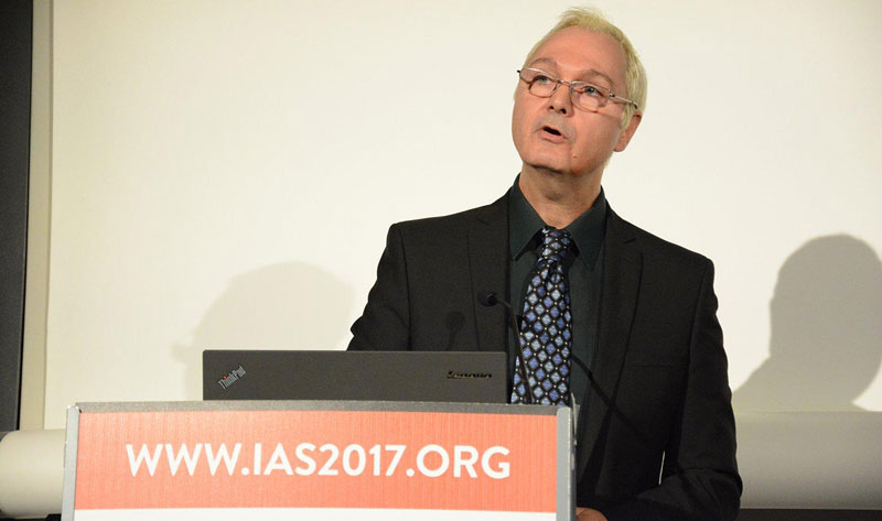 USAID Office of HIV/AIDS Senior HIV/AIDS Advisor for Key Populations, Cameron Wolf, leads a satellite session at IAS 2017