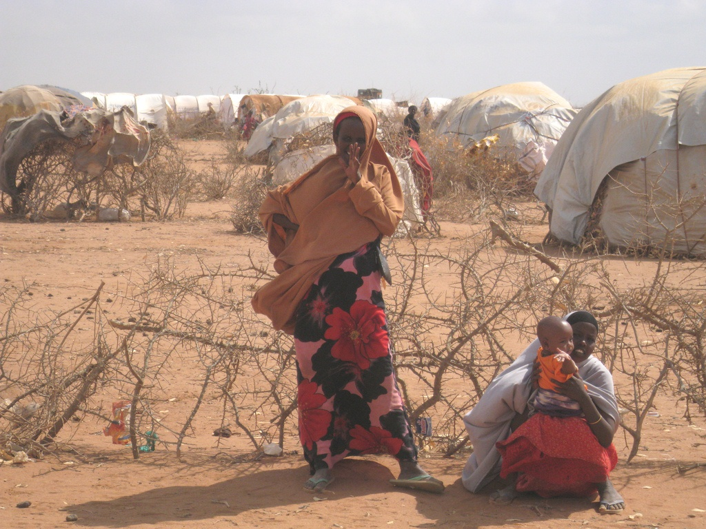 Residents of Ifo Camp, Dadaab