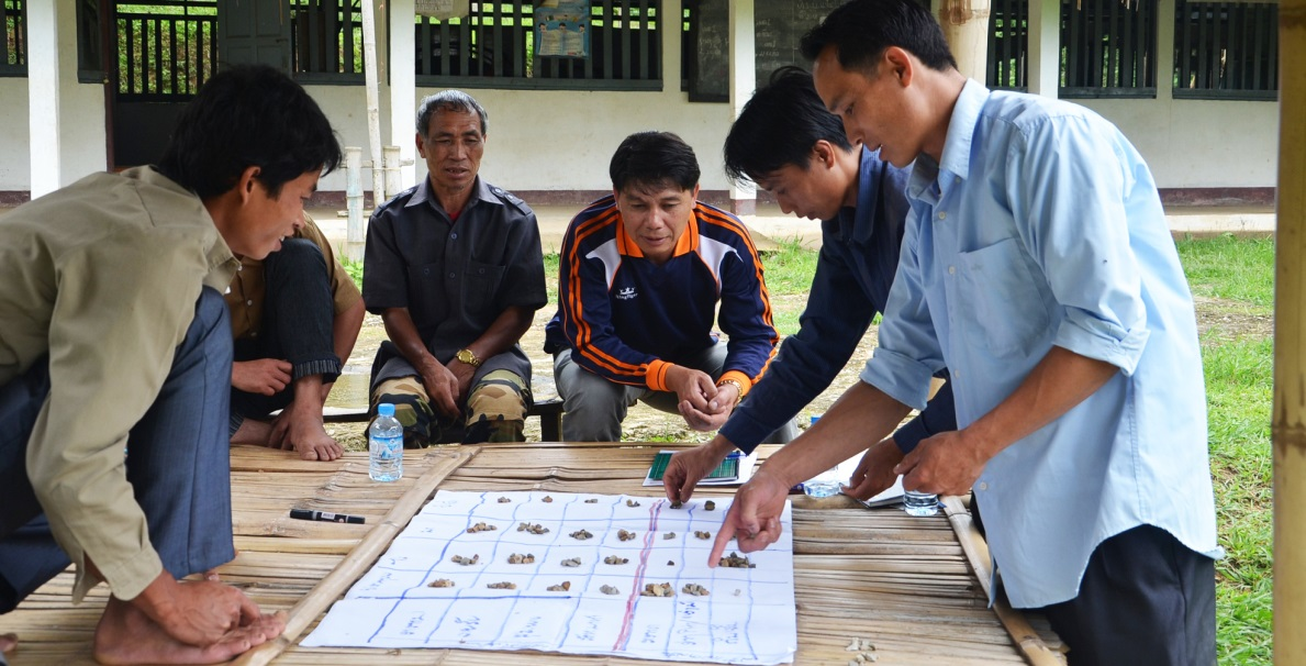 USAID partners conduct participatory land-use planning to help protect the livelihoods of forest dwellers in northern Laos.