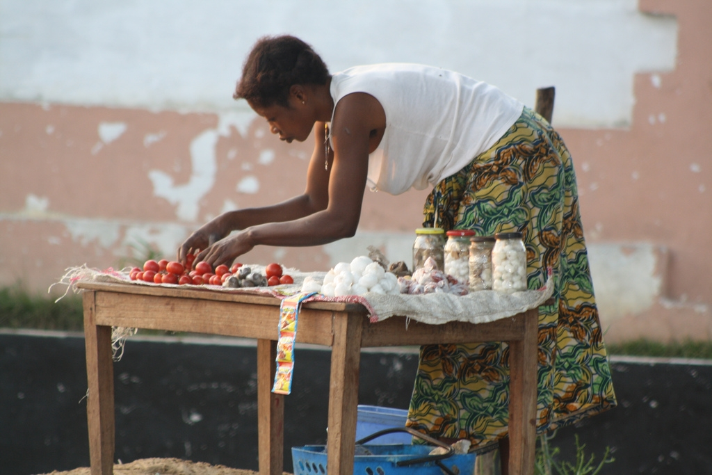 Market in Democratic Republic of Congo