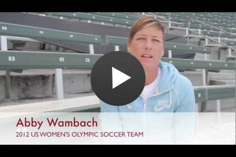 Sport for Development: Abby Wambach - Click to view video