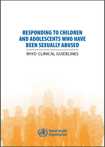 WHO Clinical Guidelines document cover image, showing the text of the report.