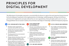 Screen grab from Principles for Digital Development