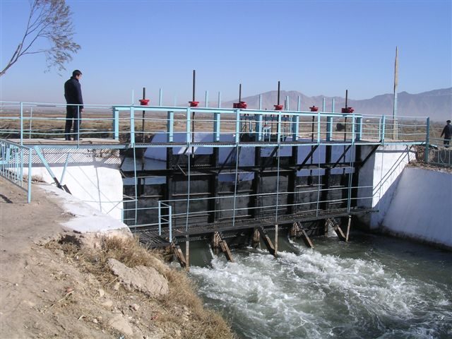 USAID supported the rehabilitation of irrigation systems