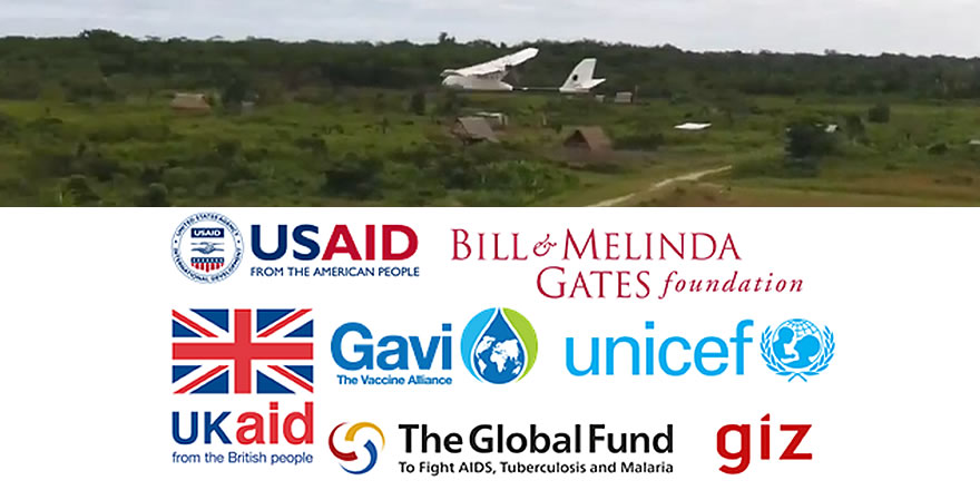 Partner Logos for the UAS in Global Health Group