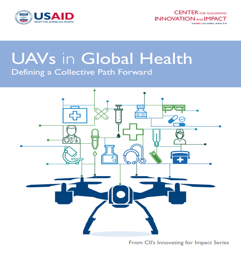 Cover for UAVs in Global Health