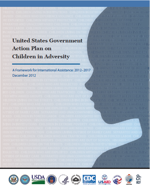 Cover of the United States Government Action Plan on Children in Adversity