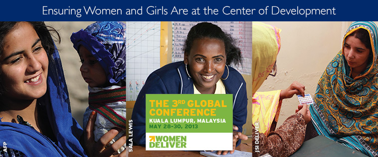 Ensuring Women and Girls Are at the Center of Development. Photo of four women.