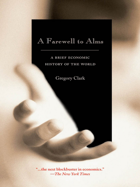 Cover: A Farewell to Alms by Gregory Clark