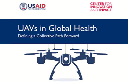 UAVS IN Global Health cover