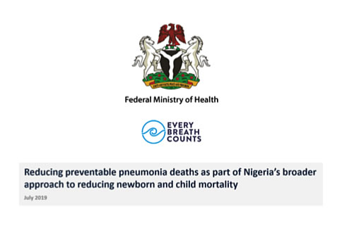 Supporting Nigeria's Integrated Pneumonia Strategy and Action Plan