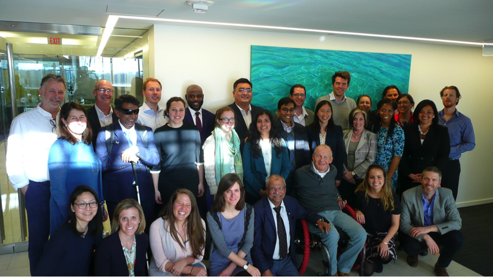 Group photo from the Workshop on the Uptake of Assistive Technologies