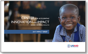 cover of the CII's 2017 Impact Brief with photo of a young boy