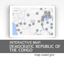 Democratic Republic of the Congo map.usaid.gov