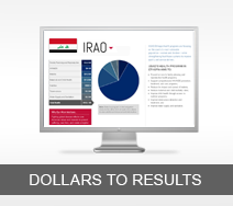 Dollars to Results tout - Iraq