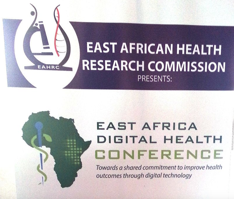 Image of the bulletin for the East African Digital Health Conference.