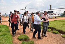 Administrator Green and other in Goma to assess the U.S. Government response efforts to the Ebola crisis.