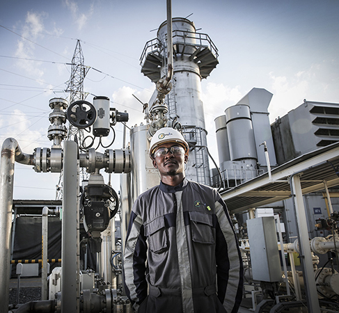 180 MW Songas Ubungo generation plant in Dar es Salaam, Tanzania, which supplies nearly one-quarter of the country's electricity and uses the country's own natural gas resources.
