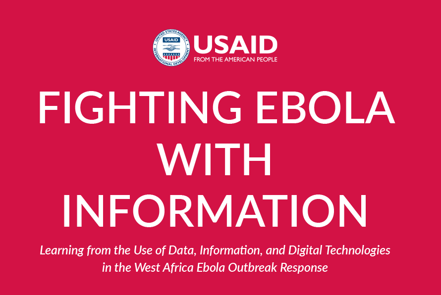 Cover of Fighting Ebola with Information