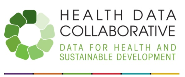 Logo of the Health Data Collaborative. Data for Health and Sustainable Development