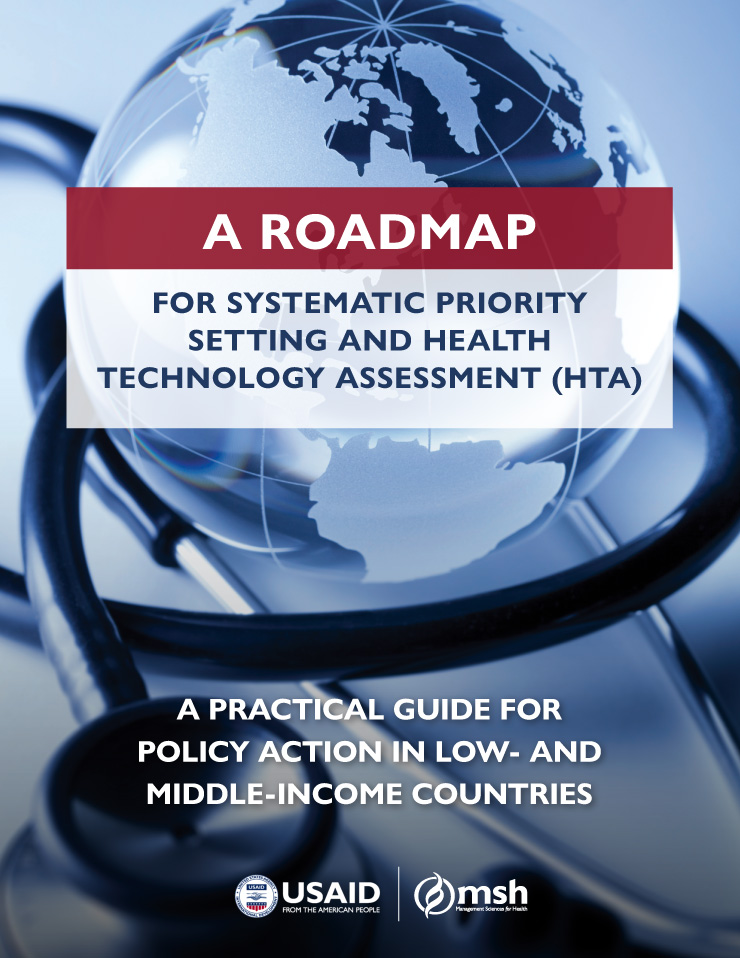 Roadmap for Systematic Priority Setting and Health Technology Assessment (HTA) cover