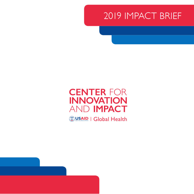 Cover of the 2019 Impact brief