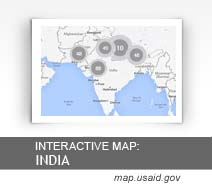 Interactive Map: India map.usaid.gov