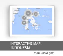 Interactive Map: Indonesia map.usaid.gov