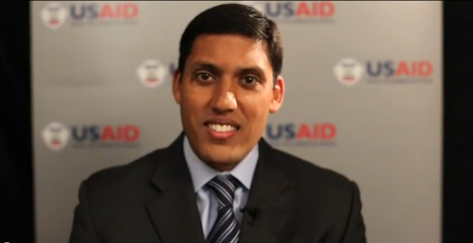 USAID Administrator Rajiv Shah on International Youth Day 2012 - Click to view video