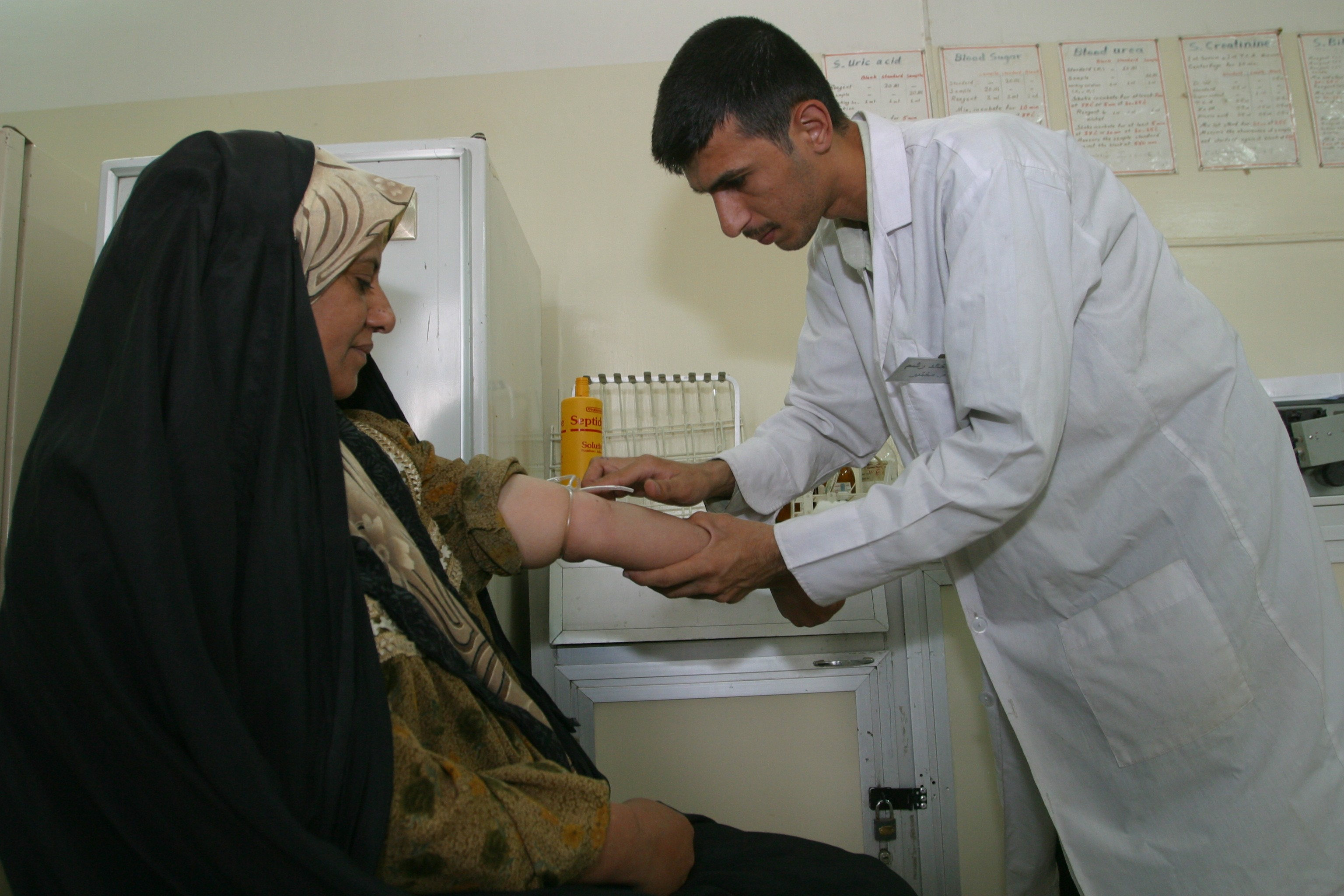health clinic in Iraq