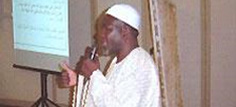 El Hadi Mamadou Traore,  member of  Malian Islamic High Council, presenting the religious model of advocacy on births spacing.