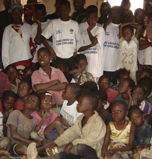 USAID/OFDA supports child-focused programs in Liberia.
