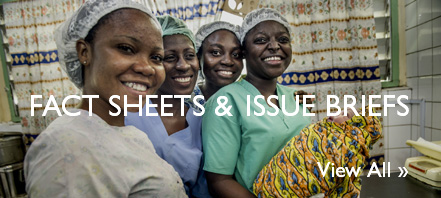 Fact Sheets & Issue Briefs. Click to View All.