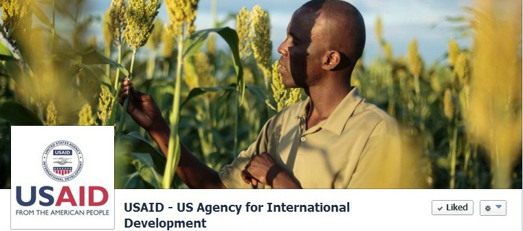 USAID's Facebook page