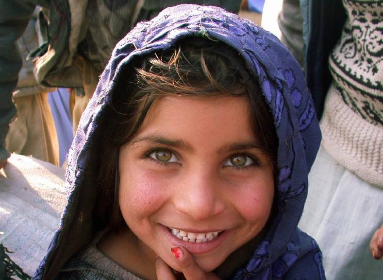 A young girl in Afghanistan. Photo Credit: USAID